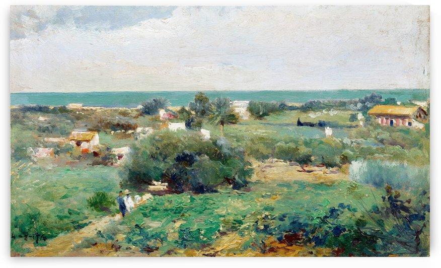 Paisaje 1910 by Manuel Garcia y Rodriguez