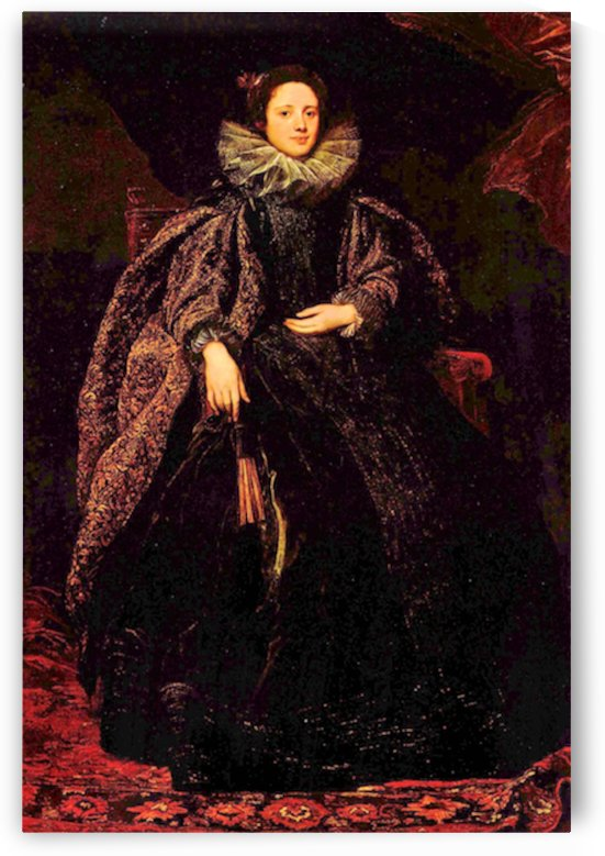 Portrait of Marchesa Balbi by Van Dyck by Van Dyck