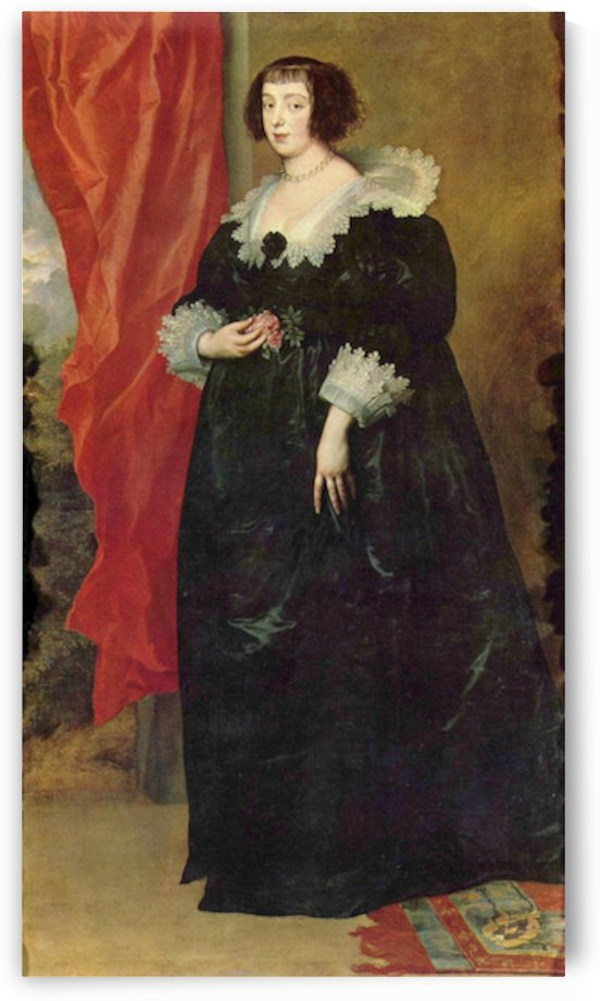 Portrait of Margaret von Lothringen by Van Dyck by Van Dyck
