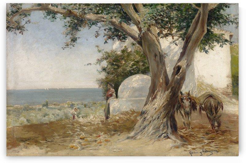 Sanlucar de Barrameda by Manuel Garcia y Rodriguez