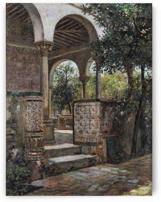 Rincon de los Reales Alcaceres de Sevilla by Manuel Garcia y Rodriguez