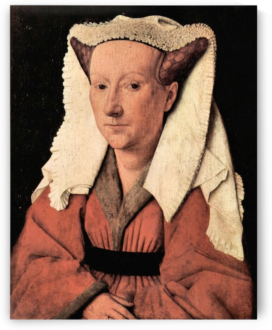 Portrait of Margaretha van Eyck by Jan Van Eyck by Jan Van Eyck