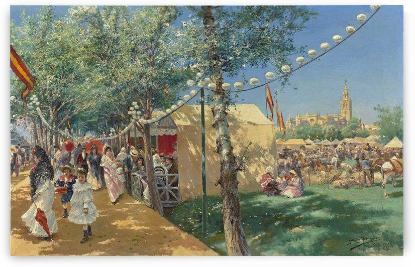 Feria de Sevilla by Manuel Garcia y Rodriguez