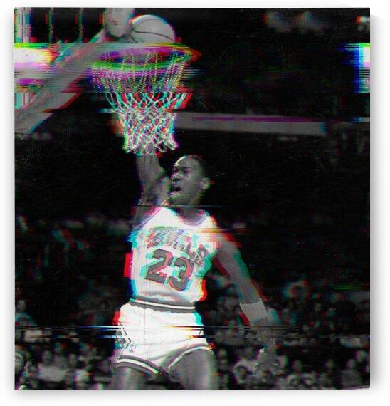 1987 Jordan Glitch Art by Row One Brand
