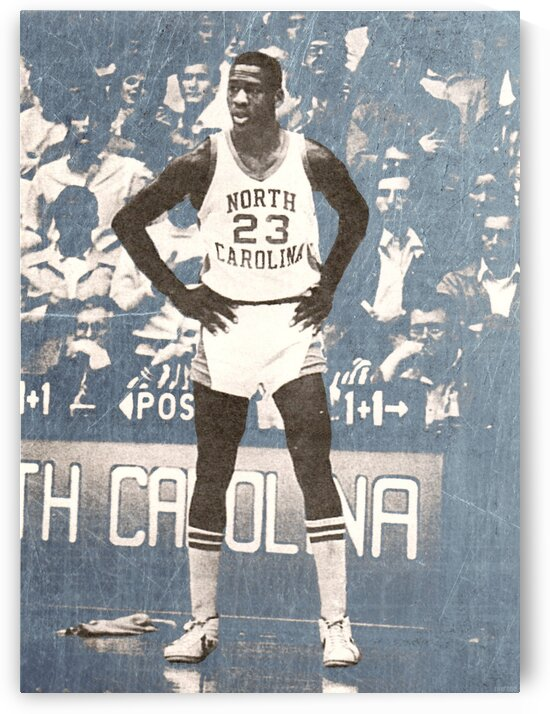 1981 Michael Jordan North Carolina  by Row One Brand