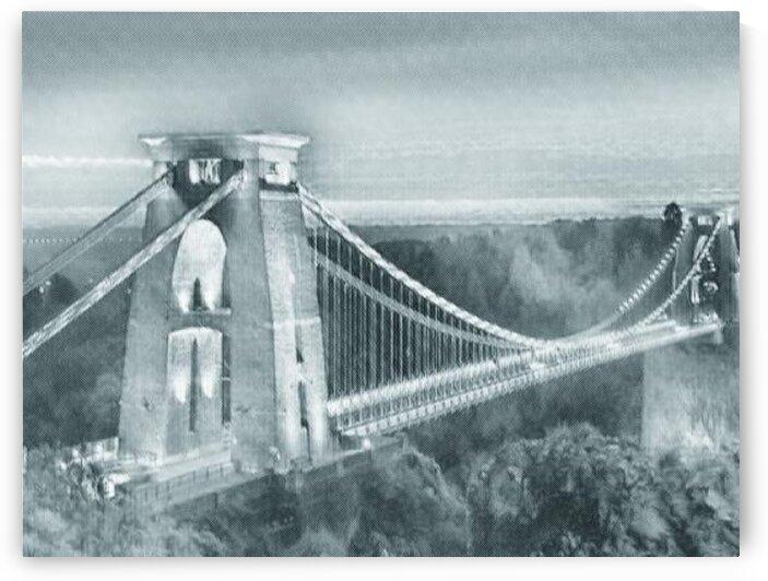 Bristol Suspension Bridge Avon Gorge by LeGustavienne