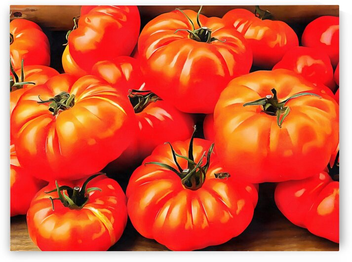 Rustic Tomatoes by Dorothy Berry-Lound