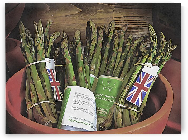 Finest British Asparagus by Dorothy Berry-Lound