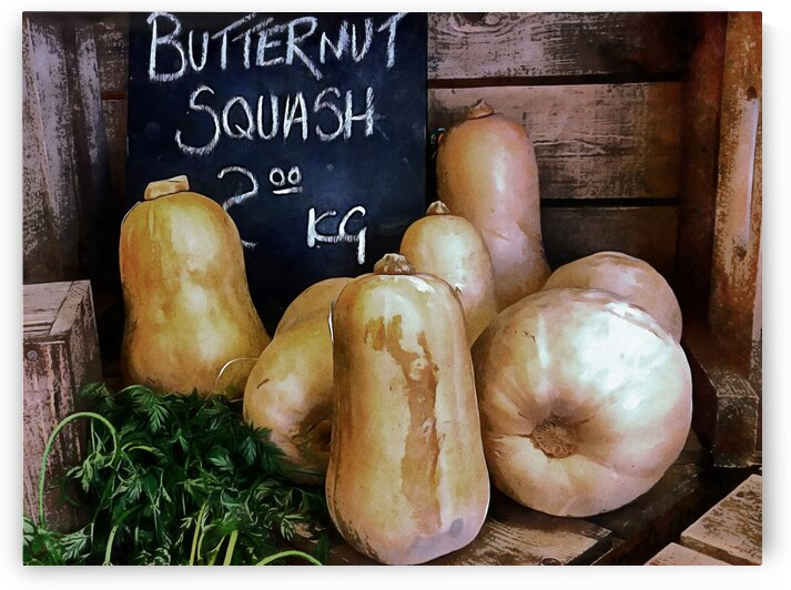 Butternut Squash Sale Display by Dorothy Berry-Lound