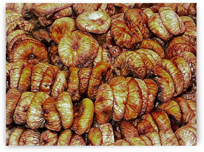 Dried Figs Display by Dorothy Berry-Lound