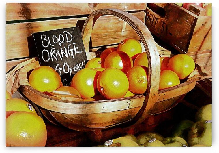 Blood Oranges Sales Display by Dorothy Berry-Lound