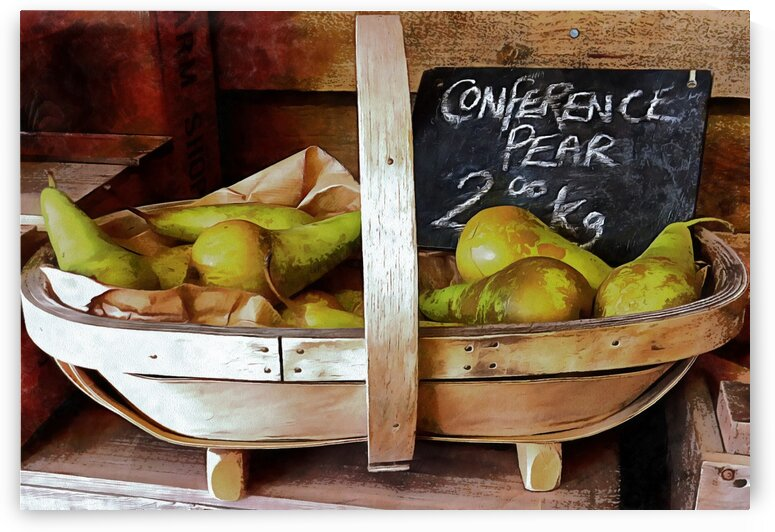 Conference Pears Sales Display by Dorothy Berry-Lound
