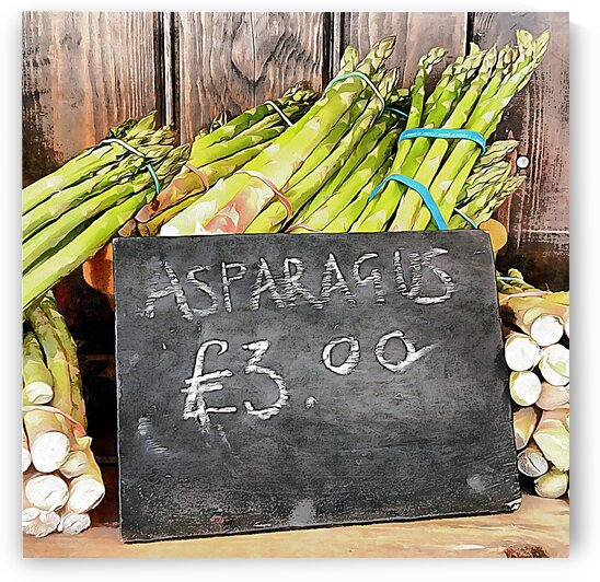 New Season Asparagus by Dorothy Berry-Lound