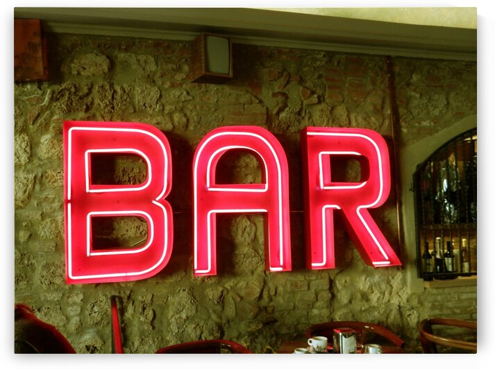 Bar Sign by Dorothy Berry-Lound