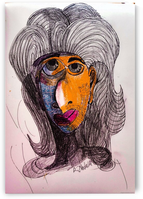 One of many Faces by Regina Abdalla