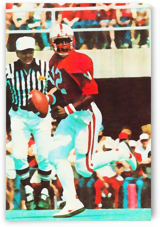 1982 Nebraska Quarterback Turner Gill by Row One Brand