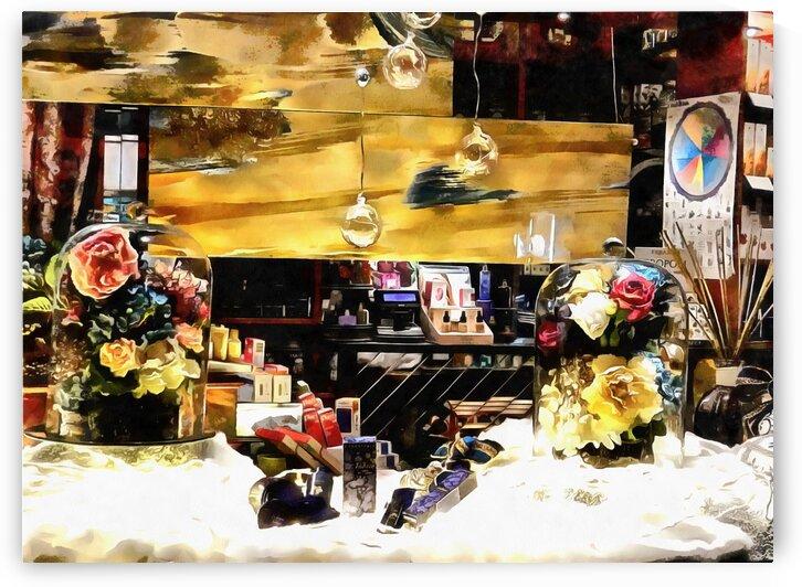 Joyful Christmas Window by Dorothy Berry-Lound