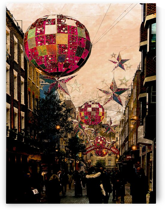 Carnaby Street Christmas by Dorothy Berry-Lound