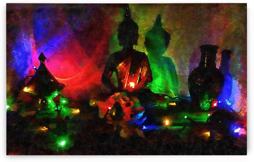 Christmas Buddha by Dorothy Berry-Lound