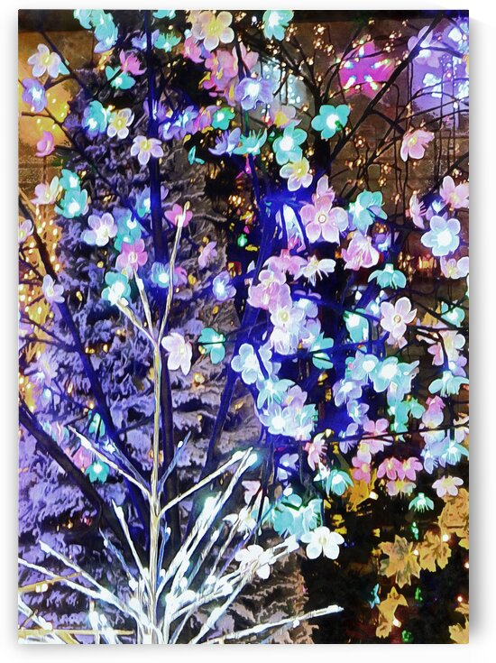 Christmas Lights 5 by Dorothy Berry-Lound