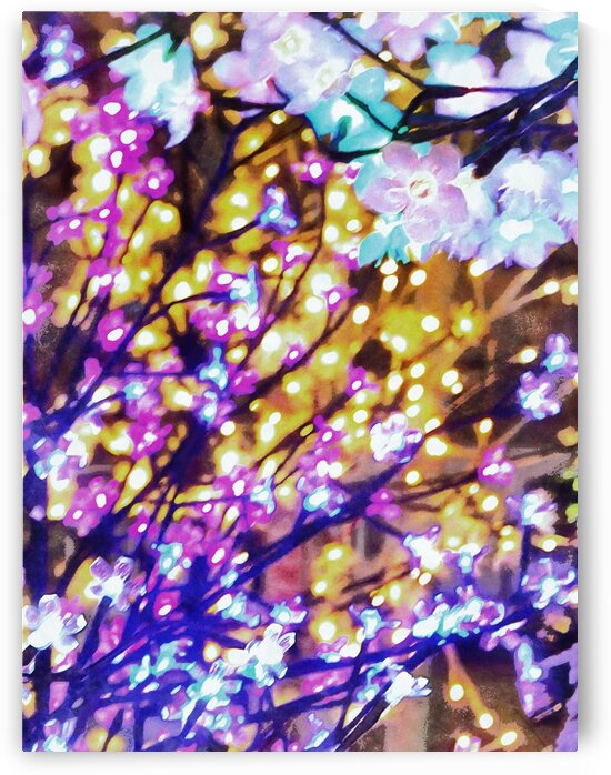 Christmas Lights 6 by Dorothy Berry-Lound