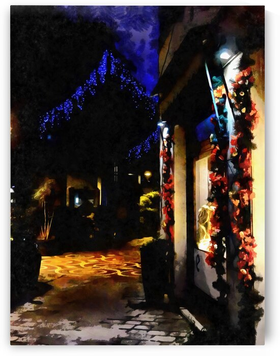 Christmas Street Impressions by Dorothy Berry-Lound