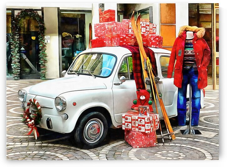 Classic Fiat Christmas by Dorothy Berry-Lound