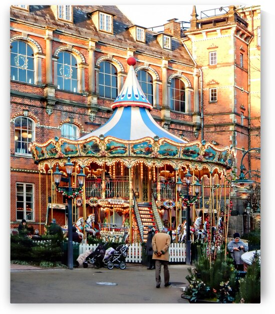 Christmas Merry Go Round by Dorothy Berry-Lound