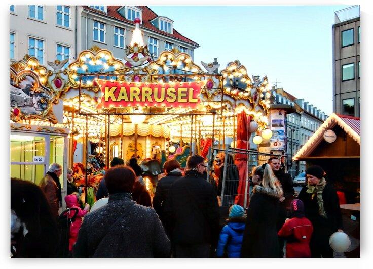 Karrusel Copenhagen at Christmas by Dorothy Berry-Lound
