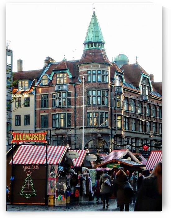 Julemarked Copenhagen Denmark by Dorothy Berry-Lound