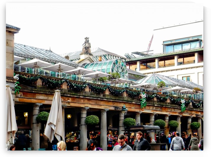 Covent Garden Christmas Exterior 2 by Dorothy Berry-Lound