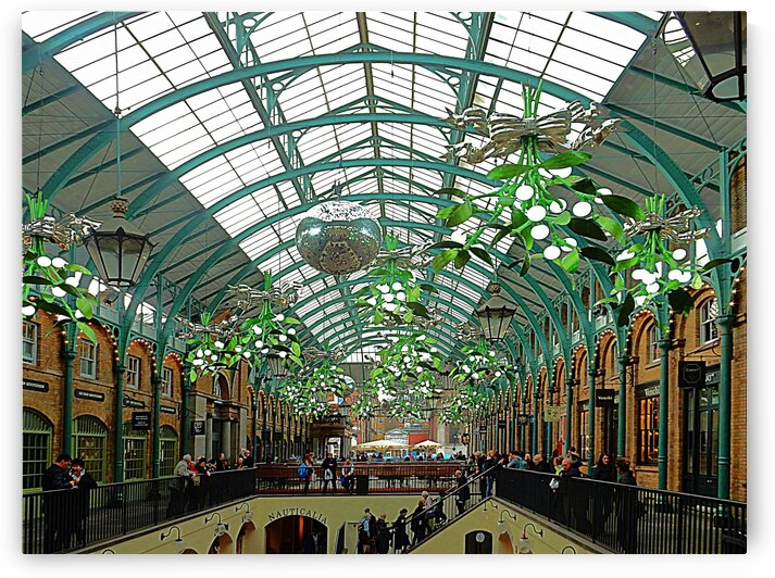 Covent Garden Christmas Interior by Dorothy Berry-Lound