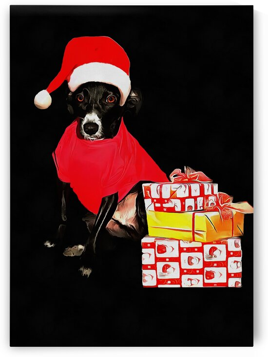 Christmas Puppy by Dorothy Berry-Lound