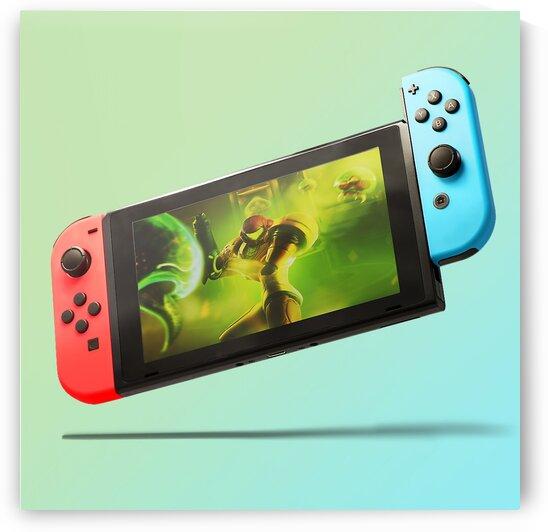 Nintendo Switch Red Blue by CarlosDoesPhoto