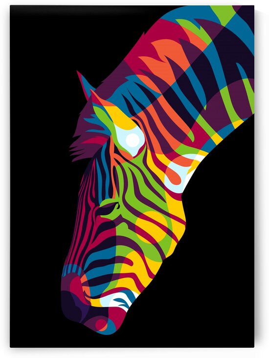 Zebra Inside by wpaprint