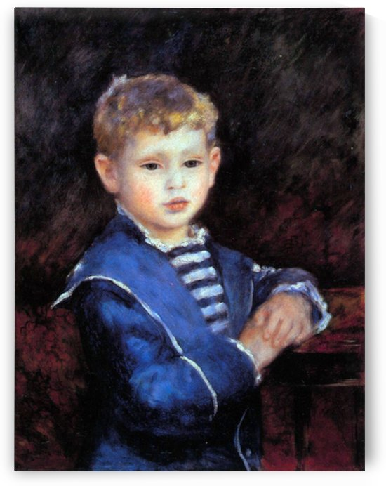 Portrait of Paul Haviland by Renoir by Renoir