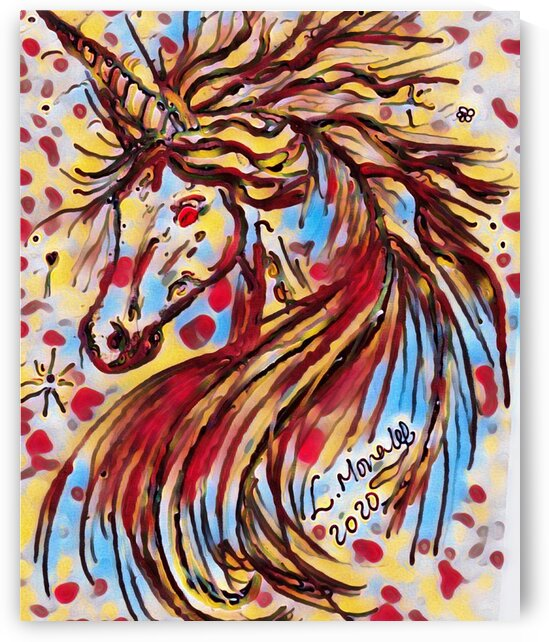 Multi Magic Unicorn Bright and beautiful by LeGustavienne