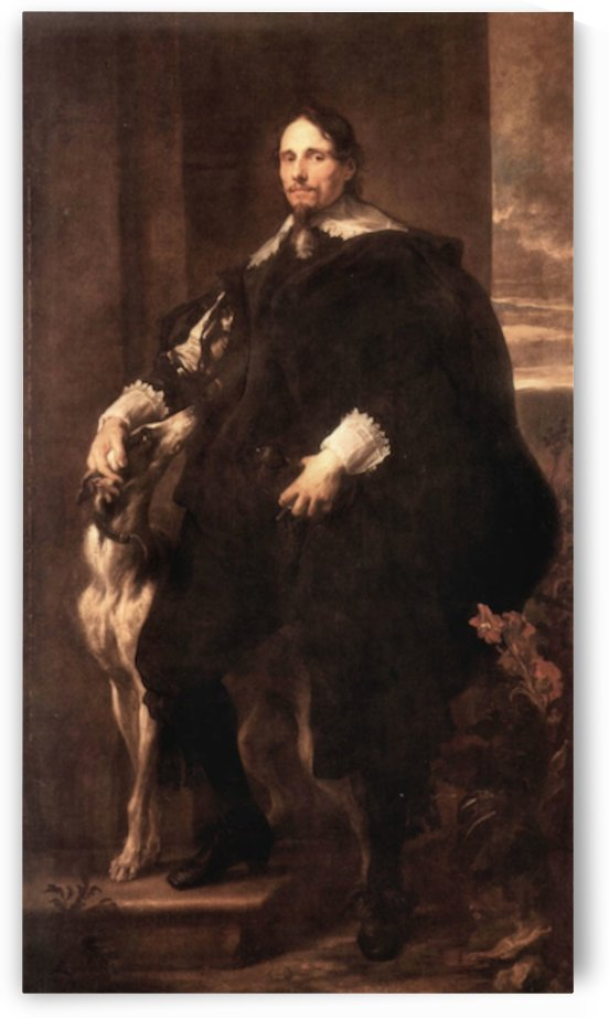 Portrait of Philippe Le Roy, Lord of Ravels by Van Dyck by Van Dyck