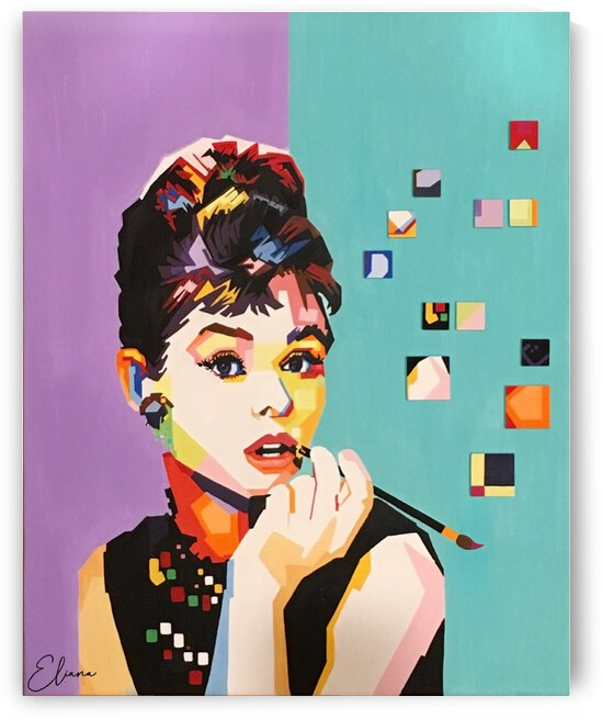 Audrey Hepburn  by Eliana