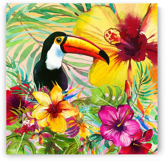Tropical Toucan by HH Photography of Florida