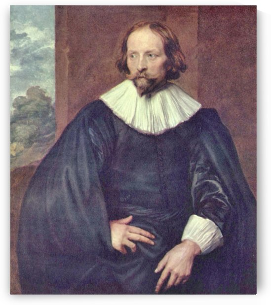 Portrait of Quintijn Simons by Van Dyck by Van Dyck