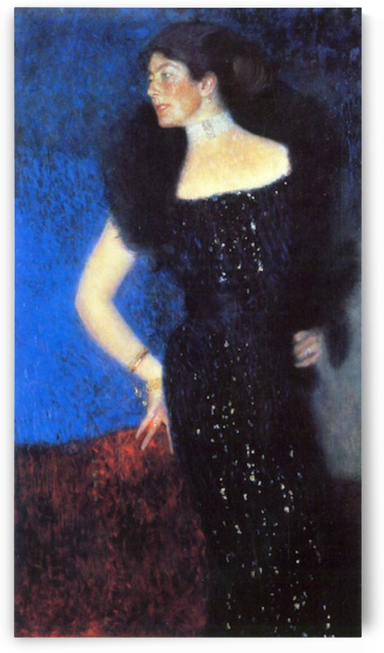 Portrait of Rose von Rosthorn-Friedmann by Klimt by Klimt