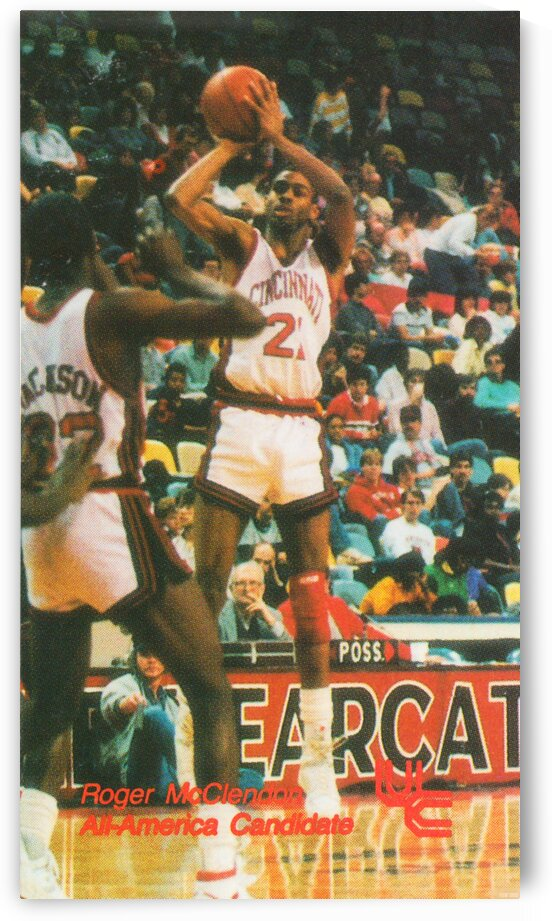 1987 Cincinnati Bearcat Basketball by Row One Brand