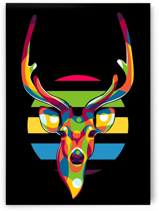 Deer Portrait by wpaprint