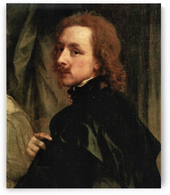 Portrait of Sir Endimion Porter and self-portrait, detail by Van Dyck by Van Dyck