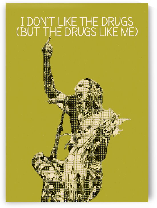 I Dont Like The Drugs But The Drugs Like Me  by Gunawan Rb