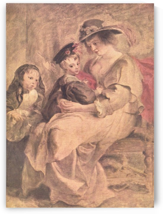 Portrait of the artist s family by Rubens by Rubens