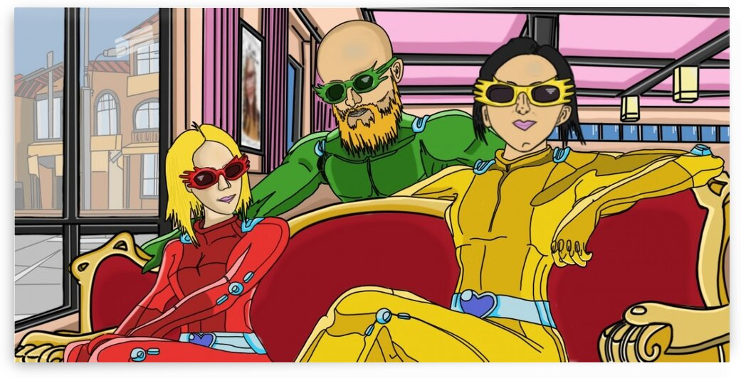TotallySpies1 by Bald Guy Drawing