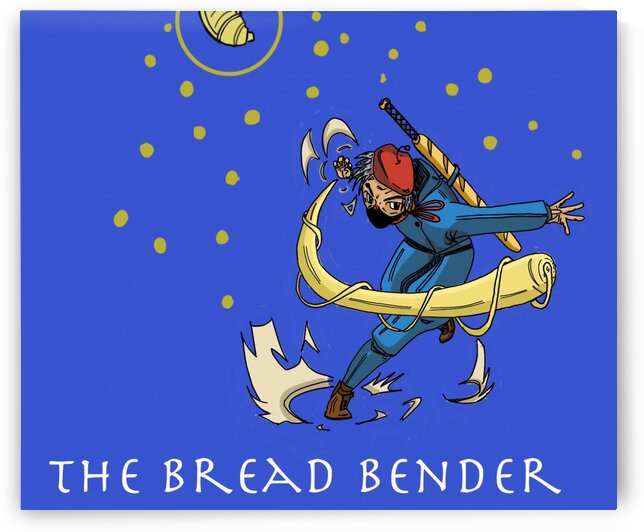 BreadBender1 by Bald Guy Drawing