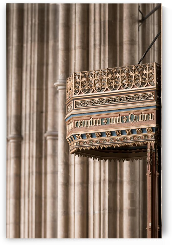 Architectural details in cathedral by Assaf Frank